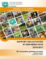 Rapport annuel FUPAL - AGA 2017